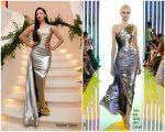 Nicole Scherzinger  In  Rami Kadi  Couture  @  2019 amfAR Gala  in Hong Kong
