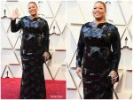 Queen Latifah In Sequin Dress  @ 2019 Oscars