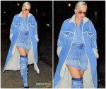Rita Ora In Diesel  Leaving the Mercer Hotel in New York