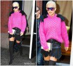 Rita Ora in Diesel Out In New York
