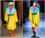 Rita Ora In Prabal Gurung Out In New York