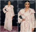 Sonam Kapoor  In Anamika Khanna  @ Doha Fashion Trust Arabia Gala