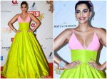 Sonam Kapoor In Celia Kritharioti Couture @ Hello Hall Of Fame Awards 2019