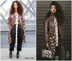 Thandie Newton In Louis Vuitton @ Louis Vuitton Fall 2019