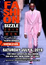Fashion Sizzle NYFW Menswear Fashion Show 2019