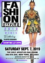 Fashion Sizzle NYFW Women Fashion Show 2019
