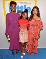 Issa Rae, Marsai Martin, and Regina Hall at the 'Little' Atlanta red carpet Screening