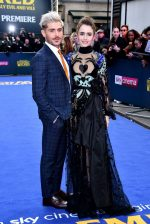 Zac Efron (in Paul Smith) and Lily Collins (in Elie Saab) @ 'Extremely Wicked, Shockingly Evil and Vile' London Premiere