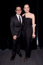 Daisy Ridley in Monse With J.J. Abrams @ 'Star Wars: The Rise of Skywalker' Panel