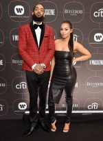 Nipsey Hussle & Lauren London arrive @ Warner Music Group Pre-Grammy Celebration  2019
