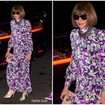 anna-wintour-in-floral-dress-marc-jacobs-char-defrancescos-wedding