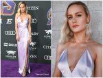 Brie Larson  In  Celine @ 'Avengers: Endgame' LA Premiere