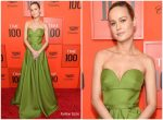 Brie Larson In  Prada @  TIME 100 Gala