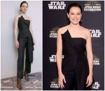 Daisy Ridley In Monse  @ 'Star Wars: The Rise Of Skywalker' Panel