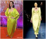 Eva Green  In Jean Paul Gaultier Couture @ Bvlgari Celebrate WILD POP High Jewellery Collection