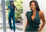 Gabrielle Union  In Andrea Iyamah @  'L.A.'s Finest' Press Conference