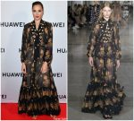 Gal Gadot In  Giambattista Valli  @ Huawei P30 Series Launch Party