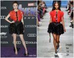 Karen Gillan  In Christopher Kane @  'Avengers: Endgame' LA Premiere