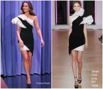 Kate Beckinsale In Georges Chakra Couture  @ Tonight Show