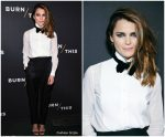 Keri Russell  In Celine & Tom Ford @  'Burn This' Opening Night