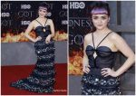 Maisie Williams in Miu Miu @ 'Game of Thrones' Season 8 New York Premiere