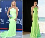 Miranda Lambert  In  Alex Perry @  2019 ACM Awards