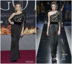 Natalie Dormer  In  Giorgio Armani   @ 'Game Of Thrones' Season 8 New York Premiere