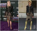 Pom Klementieff  In Chanel  @  'Avengers: Endgame' LA Premiere