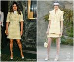 Priyanka  Chopra  In Chanel  @  'Burn This' Broadway Opening  Night