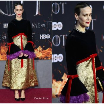 sarah-paulson-in-gucci-games-of-thrones-season-8-new-york-premiere