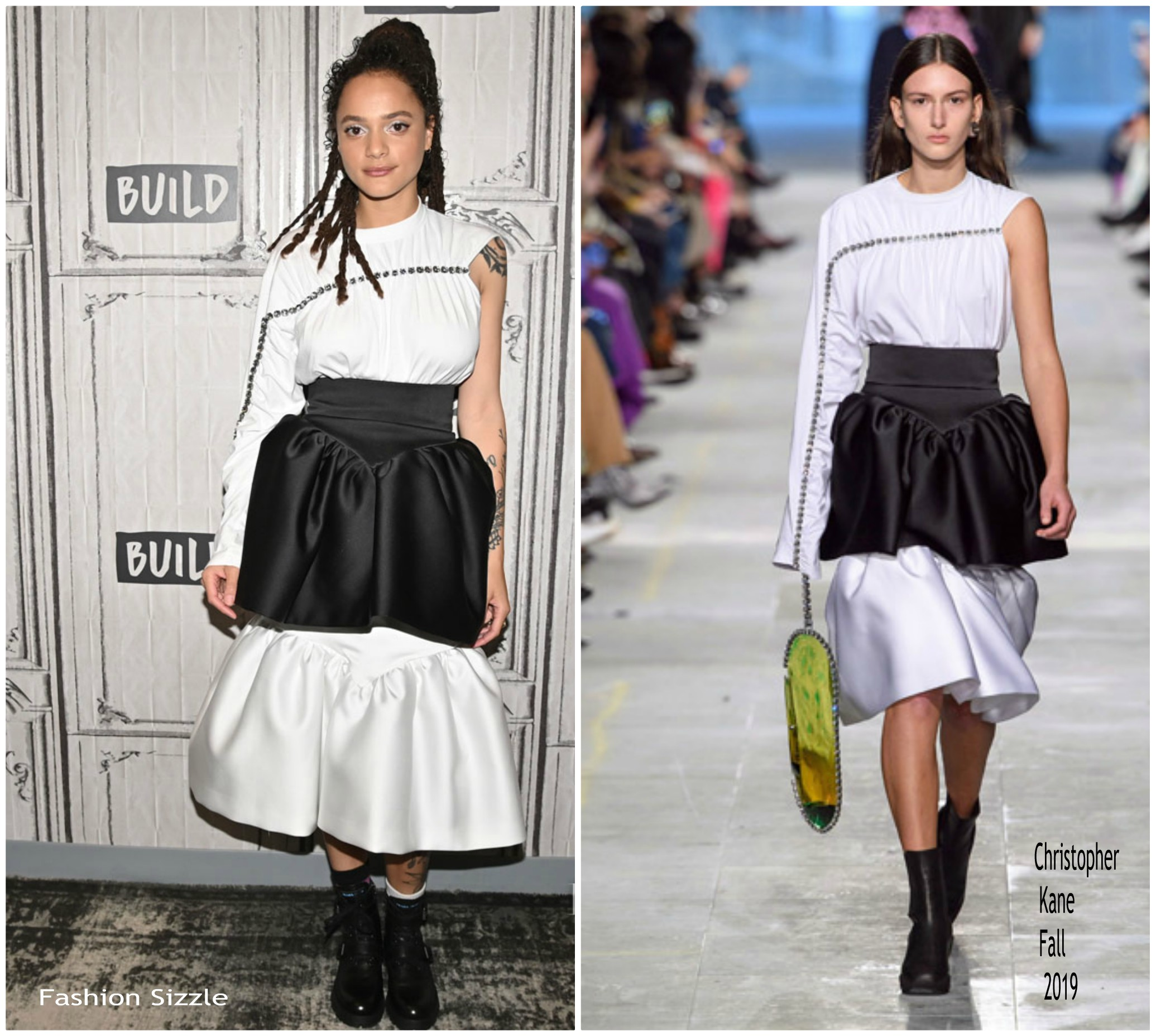 sasha-lane-in-christopher-kane-build-series