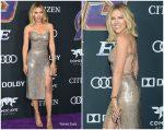 Scarlett Johansson In Custom Atelier Versace @ 'Avengers: Endgame' LA Premiere