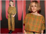 Taylor Schilling  In  Rachel Comey  @ 'Hadestown' Opening Night