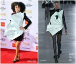 Yara Shahidi  In Balmain @  2019 NAACP Image Awards