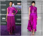 Zoe Saldana In Givenchy @ 'Avengers: Endgame' LA Premiere