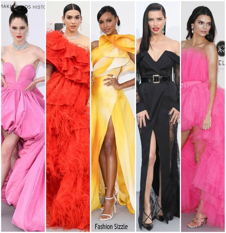 2019 Amfar Cannes Gala Redcarpet Fashionsizzle