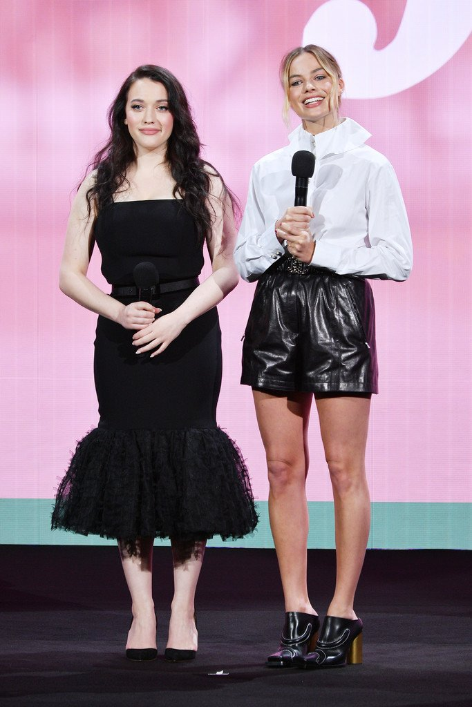 kat-dennings-and-margot-robbie-(in-chanel)-@-2019-hulu-upfront-presentation