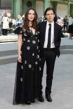 Keira Knightley (in Chanel) and James Righton @ Chanel Cruise 2020 Fashion Show