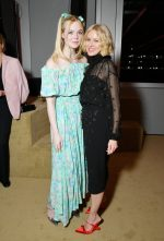 Elle Fanning and Naomi Watts, both in Prada @ Prada Resort 2020 Fashion Show