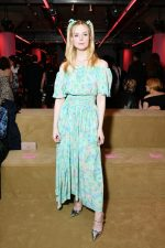 Elle Fanning in Prada @ Prada Resort 2020 Fashion Show