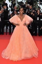 Aja Naomi King In Zac Posen @ 'A Hidden Life' Cannes Film Festival Premiere