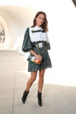 Alicia Vikander in Louis Vuitton @ Louis Vuitton Cruise 2020 Fashion Show