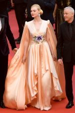 Elle Fanning in Gucci @ 'The Dead Don't Die' Cannes Film Festival Premiere