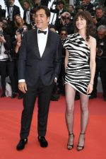 Javier Bardem and Charlotte Gainsbourg (in Saint Laurent) @ 'The Dead Don't Die' Cannes Film Festival Premiere