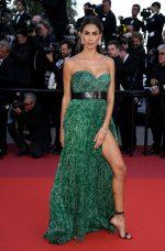 """Melissa Satta  In  Etro Couture @ """"Les Misérables"""" Cannes Film Festival Premiere"""