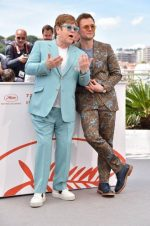 Elton John In Gucci & Taron Egerton In Etro  @ 'Rocketman' Cannes Film Festival Photocall