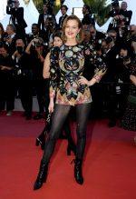 Eva Herzigova in Christian Dior Haute Couture @ 'Rocket Man' Cannes Film Festival Premiere