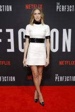 Allison Williams in Celine @ 'The Perfection' New York Premiere