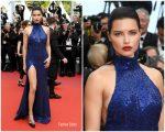"Adriana Lima  In Michael Kors  @ ""Oh Mercy! (Roubaix, Une Lumière)""  Cannes Film Festival Premiere"