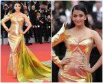"Aishwarya Rai Bachchan In  Jean-Louis Sabaji Couture @ ""A Hidden Life"" Cannes Film Festival  Premiere"
